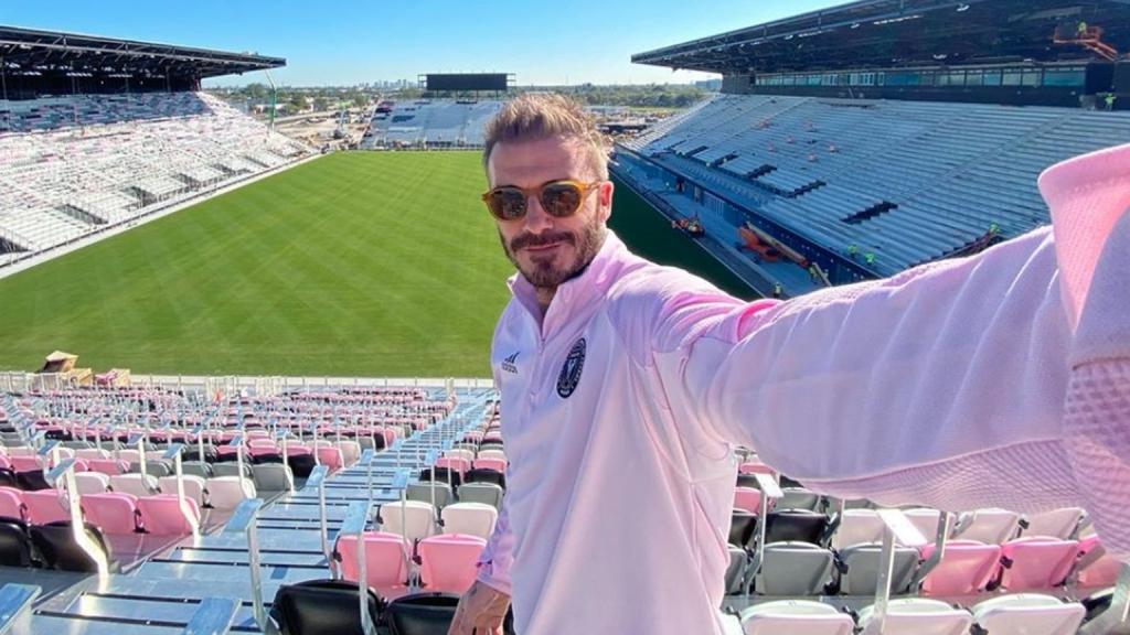 David Beckham im Stadion von Inter Miami
